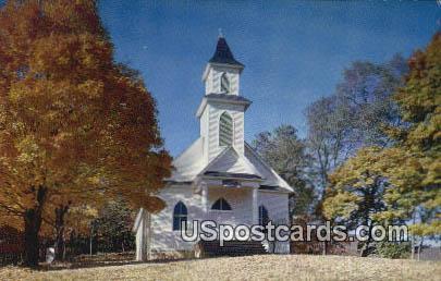 Sherry Memorial Christian Church - Newport, Virginia VA Postcard