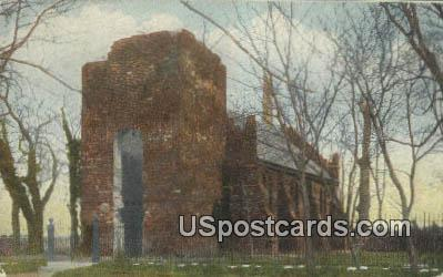Memorial Church - Norfolk, Virginia VA Postcard