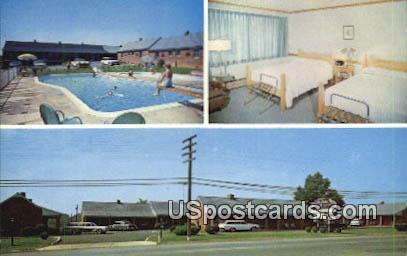 DeLuxe Motor Court Inc - Waynesboro, Virginia VA Postcard