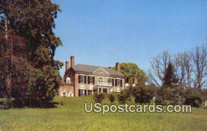 Woodlawn Mansion - Mt Vernon, Virginia VA Postcard