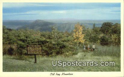 Old Rag Mountain - Shenandoah National Park, Virginia VA Postcard