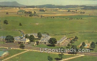 Pure Village Court - Harrisonburg, Virginia VA Postcard