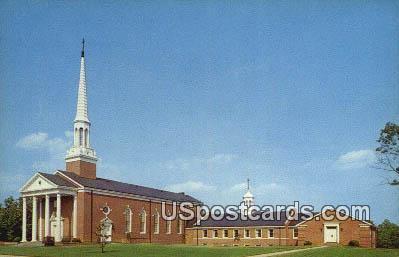 Anderson Memorial Presbyterian Church - Martinsville, Virginia VA Postcard