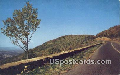 Skyline Drive, Virginia Postcard     ;       Skyline Drive, VA