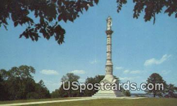 Monument to Victory & Alliance - Yorktown, Virginia VA Postcard