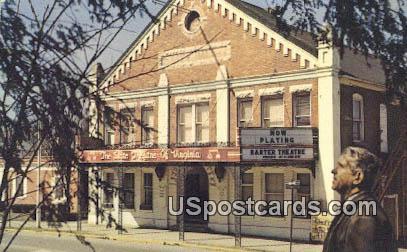 World Famous Barter Theatre of Virginia - Abingdon Postcard