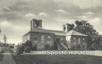 Stratford Hall - Westmoreland County, Virginia VA Postcard