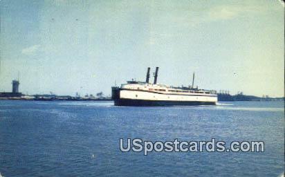 Ferry Del Mar Va - Norfolk, Virginia VA Postcard