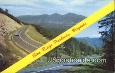 Blue Ridge Parkway, Virginia Postcard     ;       Blue Ridge Parkway, VA