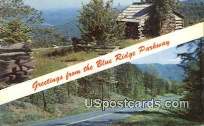 Stoneyman Mountain - Shenandoah National Park, Virginia VA Postcard