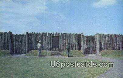 Fort Necessity, VA Postcard       ;         Fort Necessity, Virginia