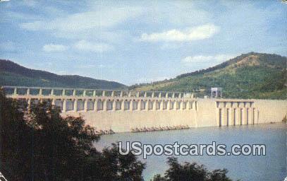 Great Bluestone Dam - Hinton, Virginia VA Postcard
