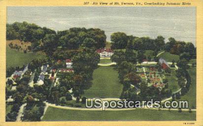 Potomac River - Mt Vernon, Virginia VA Postcard
