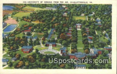 University of Virginia - Charlottesville Postcard