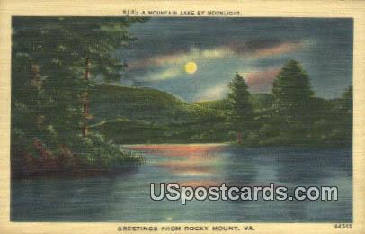 Mountain Lake - Rocky Mount, Virginia VA Postcard
