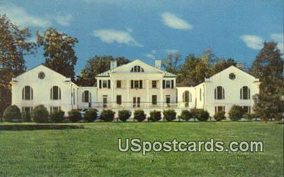 Alumni Hall, University of Virginia - Charlottesville Postcard