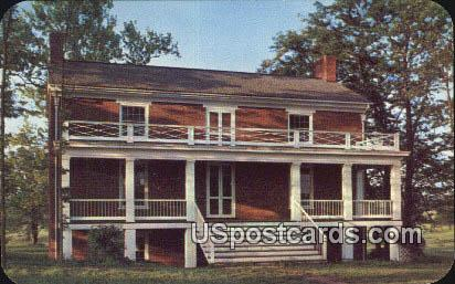 McLean House - Appomattox Court House, Virginia VA Postcard