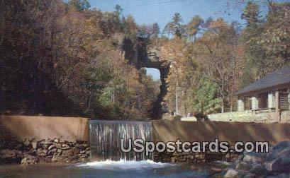 Below Dam - Natural Bridge, Virginia VA Postcard