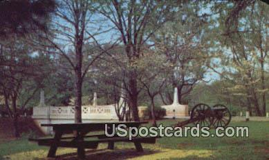 Memorial Bridge - Appomattox Court House, Virginia VA Postcard