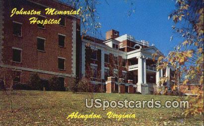 Johnston Memorial Hospital - Abingdon, Virginia VA Postcard