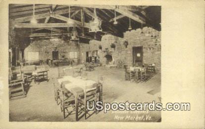 Lodge, Endless Caverns - New Market, Virginia VA Postcard