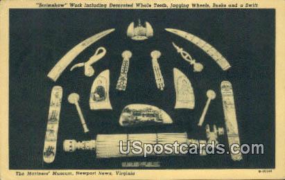Mariner's Museum - Newport News, Virginia VA Postcard