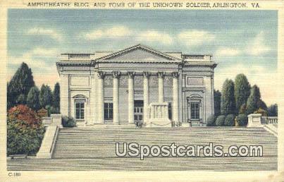 Tomb of the Unknown Solider - Arlington, Virginia VA Postcard