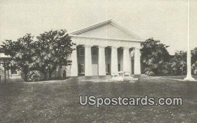 Lee Mansion - Arlington National Cemetery, Virginia VA Postcard