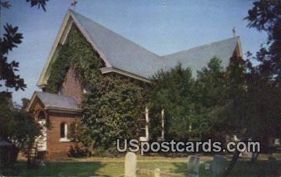 Old St John's Church - Hampton, Virginia VA Postcard
