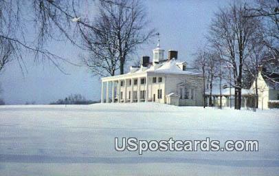 Mount Vernon, Virginia Postcard     ;       Mount Vernon, VA