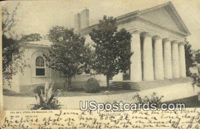 Lee's Mansion - Arlington, Virginia VA Postcard