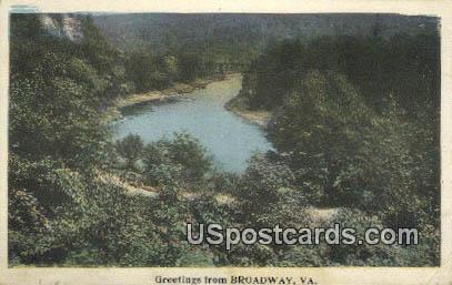 Broadway, Virginia Postcard     ;       Broadway, VA