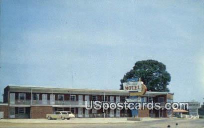 Twi-Lite Motel - Fredericksburg, Virginia VA Postcard
