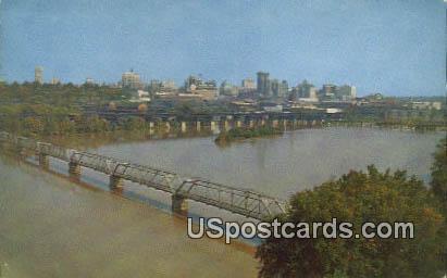 James River - Richmond, Virginia VA Postcard