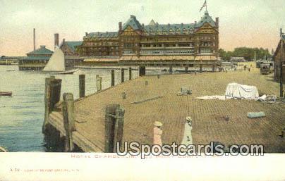 Hotel Chamberlin - Old Point Comfort, Virginia VA Postcard