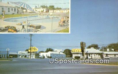 Front Royal Motel - Virginia VA Postcard