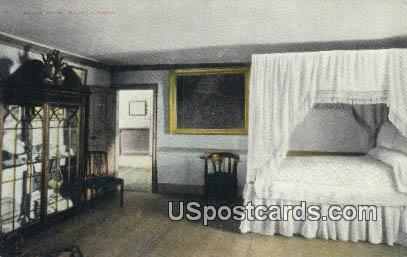 Green Room - Mount Vernon, Virginia VA Postcard