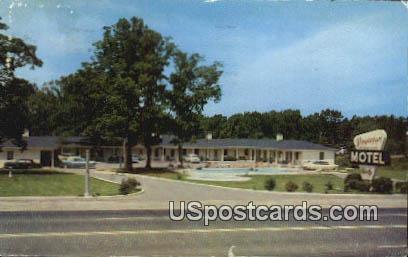 Virginian Motel - Richmond Postcard