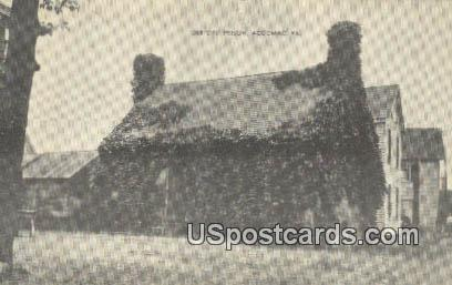 Debtors' Prison - Accomac, Virginia VA Postcard