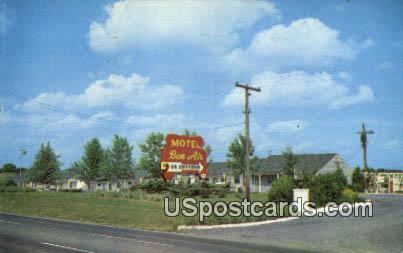Bon Air Motel - Stephens City, Virginia VA Postcard