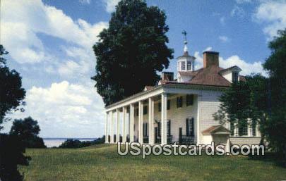 Mount Vernon, VA Postcard       ;         Mount Vernon, Virginia