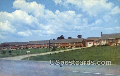 Augusta Motor Court - Mount Sidney, Virginia VA Postcard