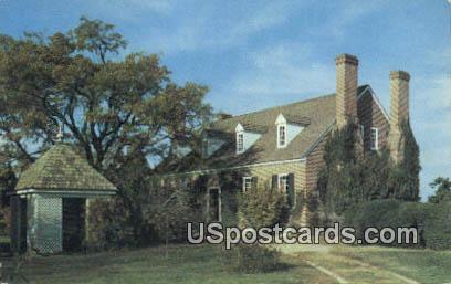 George Washington Birthplace - Westmoreland County, Virginia VA Postcard