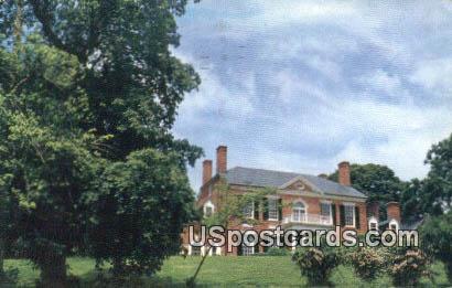Woodlawn Mansion - Mount Vernon, Virginia VA Postcard