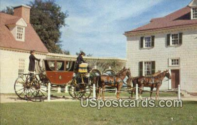 Powel Coach - Mount Vernon, Virginia VA Postcard