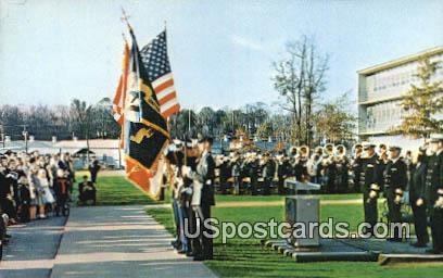 School of Music, US Naval Amphibious Base - Norfolk, Virginia VA Postcard