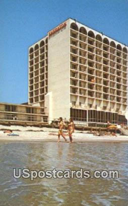 Sheraton Beach Inn - Virginia Beach Postcards, Virginia VA Postcard