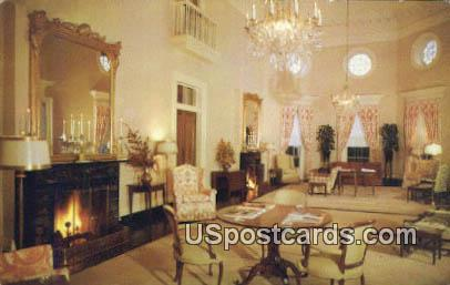 Jefferson Room, Famington Country Club - Charlottesville, Virginia VA Postcard