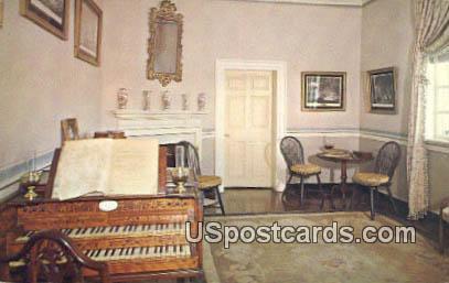 Little Parlor - Mount Vernon, Virginia VA Postcard