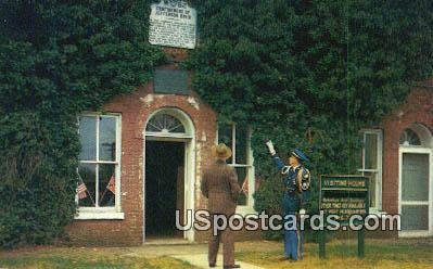 Jefferson Davis Casemate - Fort Monroe, Virginia VA Postcard